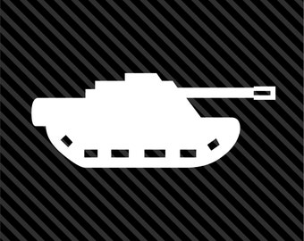TANK USA Army Military Machine Sticker Decal *15 Sizes* Truck Car Vinyl Logo Emblem - Choice of Sizes and Colors