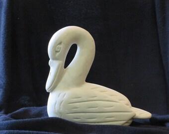 UNIQUE Art Deco Swan