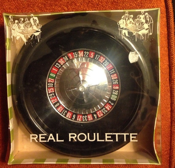 vintage roulette game. Black Bedroom Furniture Sets. Home Design Ideas