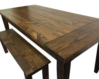 Exceptional Farmhouse Table / Farm Table / Harvest Table / Rustic Table