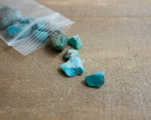 Rough Turquoise / Natural Turquoise / Turquoise Nuggets / Jewelry Supplies / Jewelry Stones