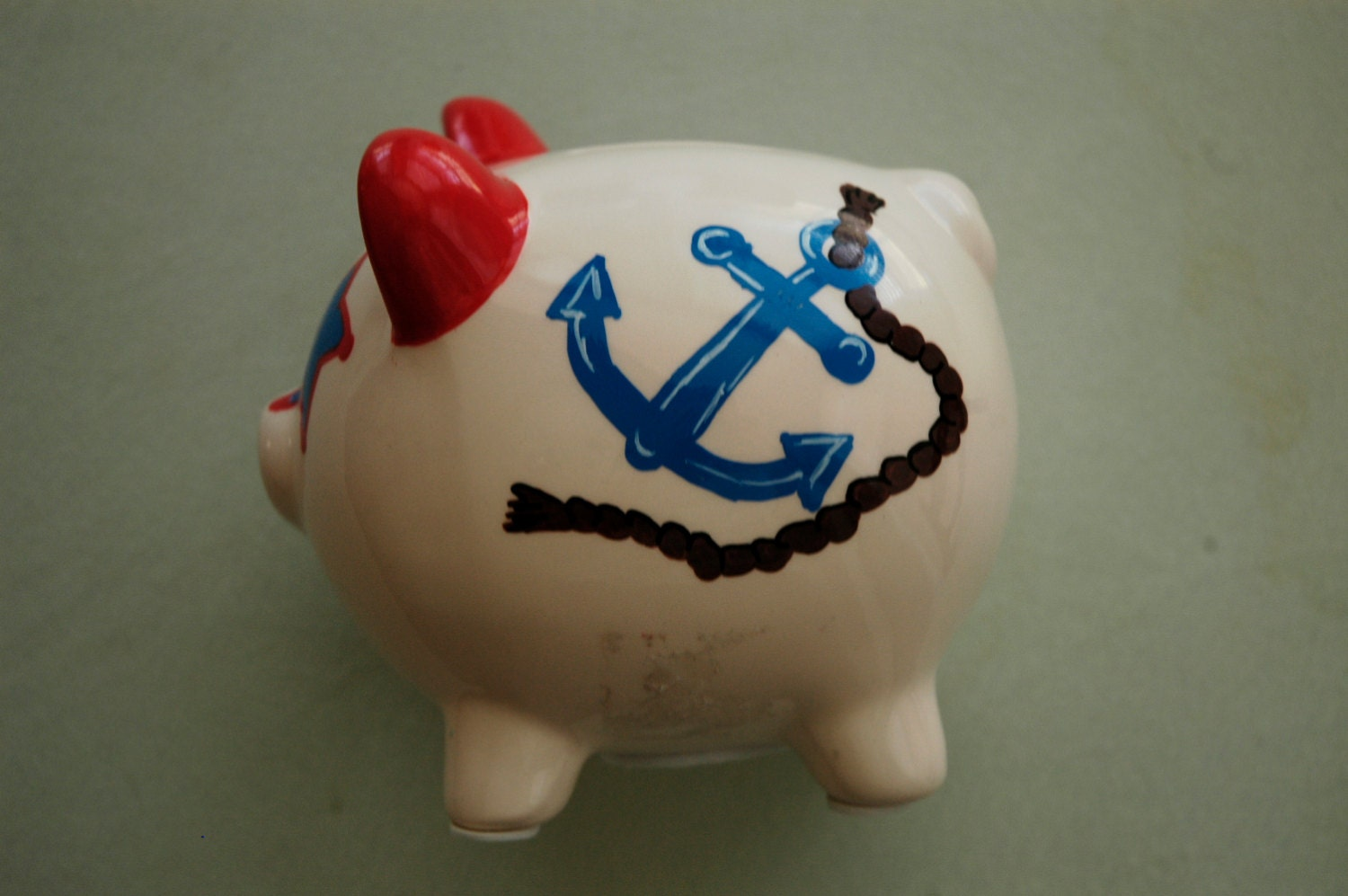 Item details shipping policies - Nautical piggy banks ...