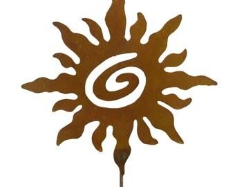 Metal Yard Art-Spiral Sun- GS53