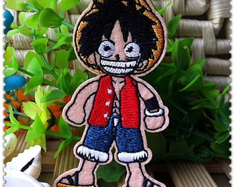 One Piece Monkey D Luffy Iron on Patches 464-H