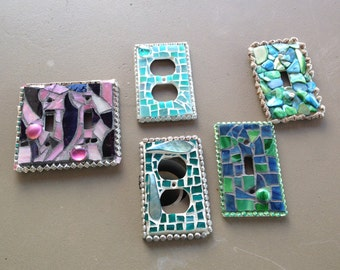 Mosaic switchplates