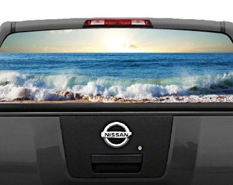 Rear Window Decal Etsy - Back window stickers for trucks