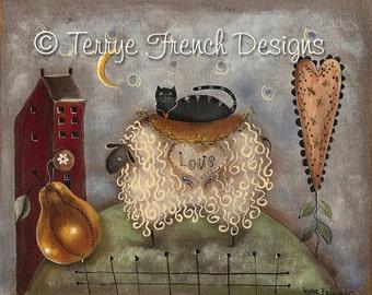 Simply Love - by Terrye French, E-Pattern