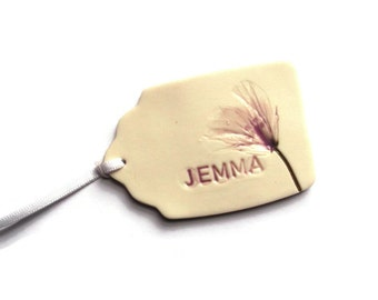 Personalised Tags, Place Setting Cards, Custom Wedding Favours, Placecards - custom gift tag