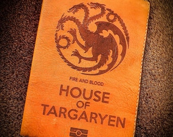 Passport cover House of Targaryen (Games of Thrones)