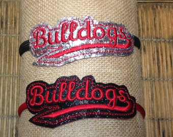 Bulldogs Headband Slider