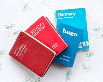 Pocket Dictionaries - Instant Collection - German English Dictionary - French by Hugo and Collins