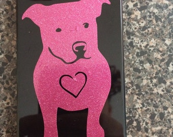 Vinyl Pit Bull Decal || Pit Bull || PitBull || Cell Phone Decal || Car Decal || Window Decal