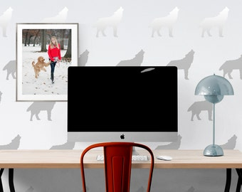 Wolf wall decal - Kids Room Wall Decal