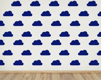 Small Cloud Wall Pattern Decal