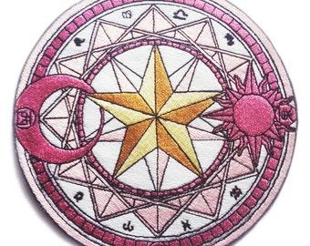 Cardcaptor Sakura Magic Circle Patch
