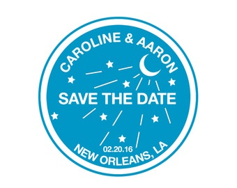 New Orleans Water Meter Wedding SAVE THE DATE