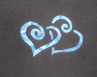 intertwined Heart  Quilt Applique Pattern Design (easy)