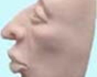 Moldf2 - 2 Inch profile face, by Maureen Carlson.