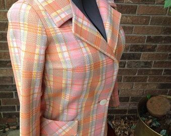 10% OFF SALE  Polyester Double Knit Womans Coat/ Jacket Custom Tailored by NARDIS of Dallas