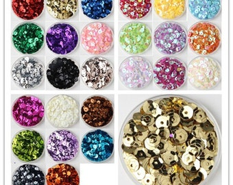 Set of 26 colors Cross Stitch Embroidery Sequin DIY kit Sequin Embroidery Supply