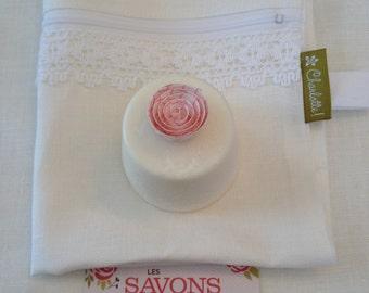 Cotton linen travel /wash bag!