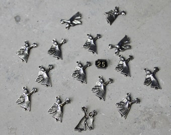 15 Angel holding a star Charms #25