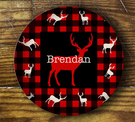 Personalized Dinner Plate or Bowl - Brendan