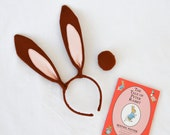 Easter Bunny, Peter the Rabbit, Hare Ears and Tail Set