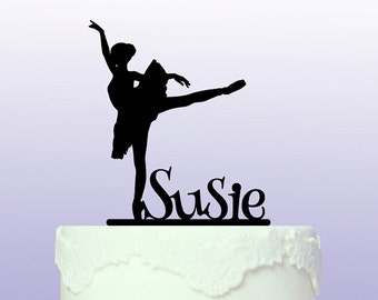 Personalised Ballerina Cake Topper