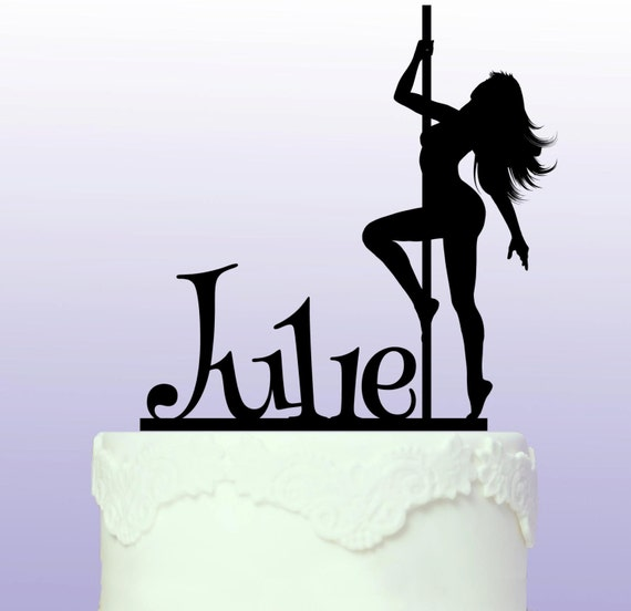 How To Make A Pole Dancer Cake Topper