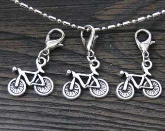 1 pc. Bicycle  Dangle for Bracelets, Floating Charm Pendants, Necklaces & Keychains  D031