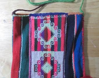 """Bolivian Coca Leaf Bag """"Chuspa"""" No. 23"""