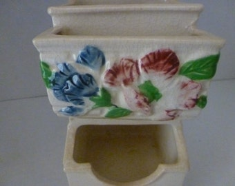 Vintage Kitchen Matchbox Holder/Wall Hanging/Cottage Chic (#15026)