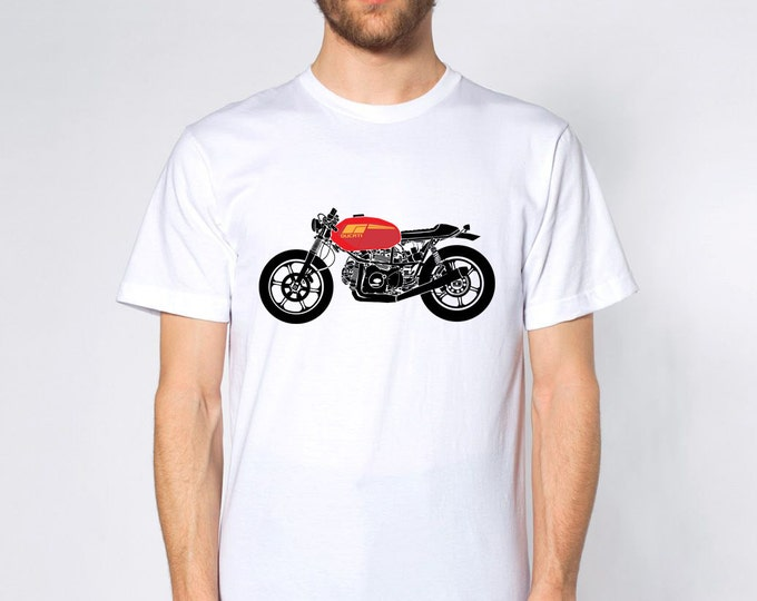 KillerBeeMoto: Limited Release 1970's and 1980's Italian Engineered Cafe Racer Short & Long Sleeve Motorcycle Shirts