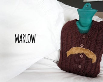 Hot Water Bottle Cover by Real Hotties - 'Marlow'