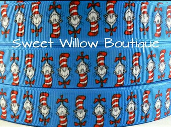 Cat In The Hat Ribbon Wholesale