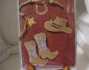 Cowboy/Cowgirt Card
