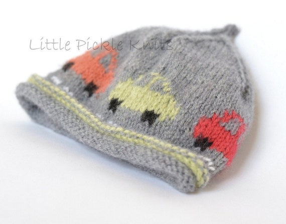 items similar to baby knitting pattern little cars