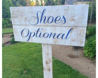 Shoes Optional--Beach Wedding