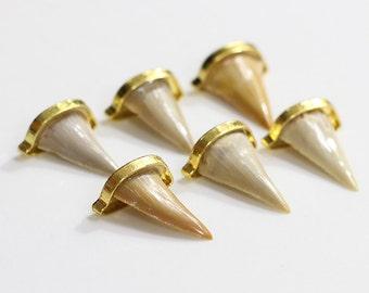 Wholesale Shark tooth pendant shark teeth DJ-025
