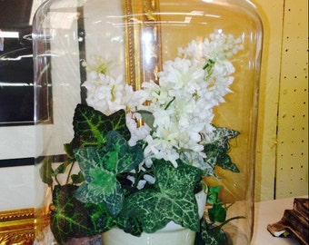 Garden Cloche and Base - display