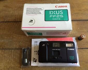 Canon FF25 Ixus (25mm Lens) (25mm/f6)