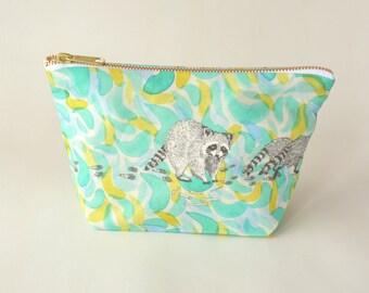 Raccoon Make Up Bag