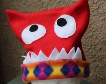 Fleece Monster Hat