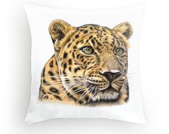 Leopard Pillow with filling 40 x 40 cm - Leopard
