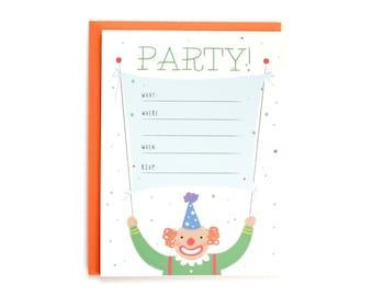 Party! Birthday Invitations