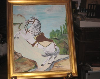 The Emperor's Horse by Maxine Dunninger -Original