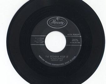 Johnny Jay 45 rpm 7 inch - Mercury 71232 - Tears (Keep On Falling)/Sugar Doll - Rockabilly