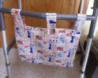 Land of the Free home of the brave walker organizer bag