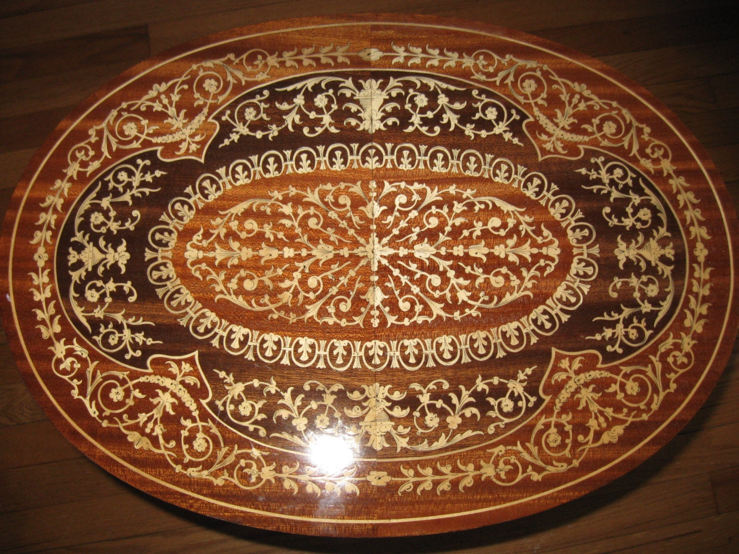 ITALIANMARQUETRY Inlaid Wood MUSIC By BrokenMoonAntiques On Etsy. Full resolution‎  image, nominally Width 1500 Height 1125 pixels, image with #AE511A.